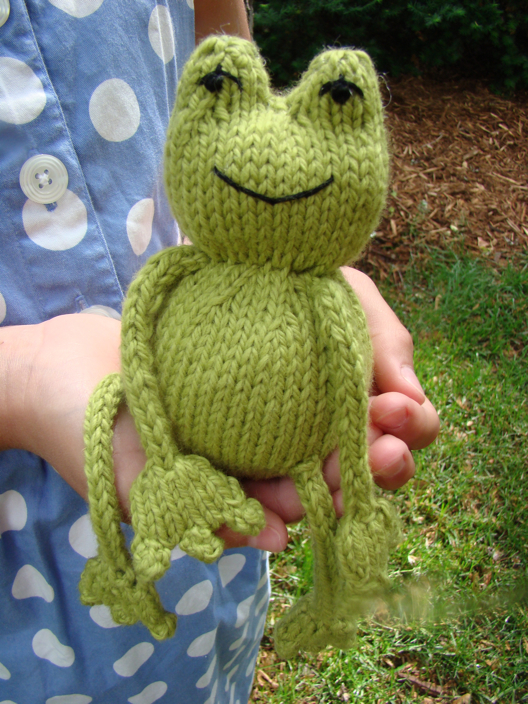 Ribbit Free Pattern Blue Sky Fibers