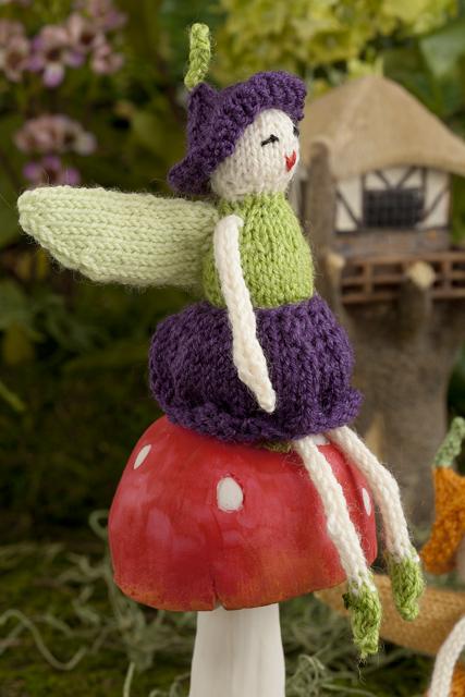 fairy-on-mushroom