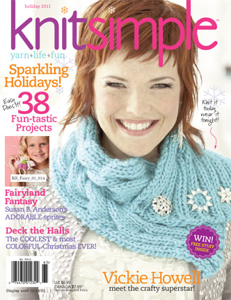 knit simple cover holiday 2011