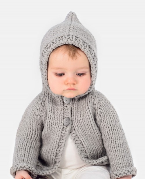 Knitting Pattern Bear Hoodie : Honeybear Hoodie Tutorial - Blue Sky Fibers