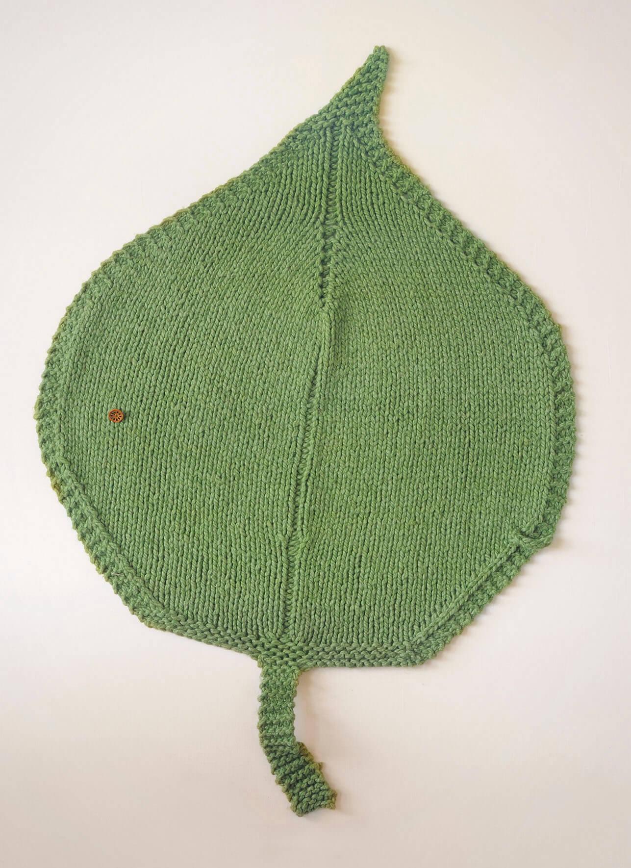 c075a70c55d9 Leaf Blanket - Blue Sky Fibers