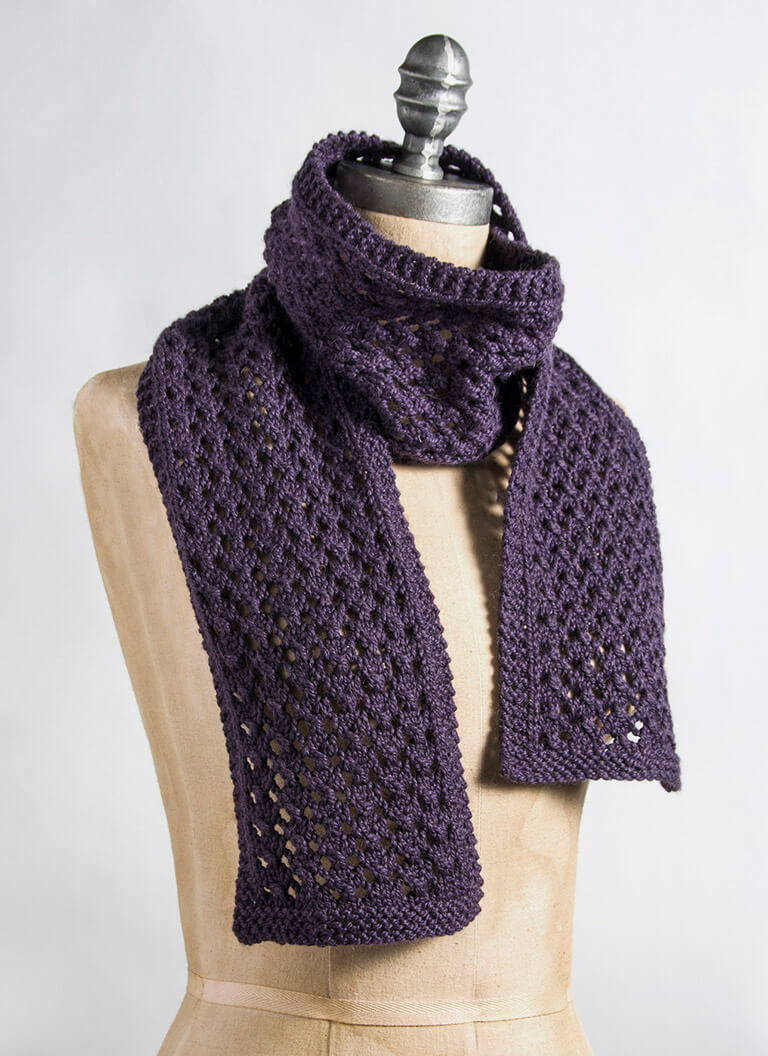 Knitted Scarf Patterns Alpaca Yarn : Extra Quick & Easy Scarf - Blue Sky Fibers