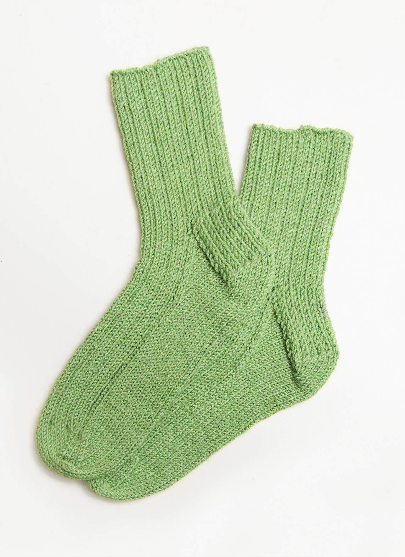 Ribbed Socks for Kids - Blue Sky Fibers