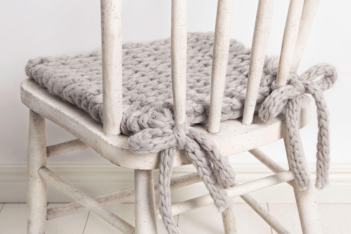 Knit-Pattern-Chair-Cushion